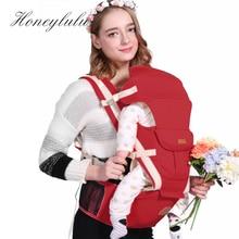 Honeylulu Detachable Backplane Ergonomic Baby Carrier Four Seasons Sling For Newborns Kangaroo Ergoryukzak Hipsit
