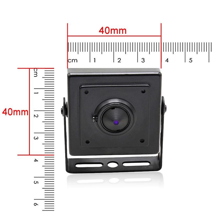 Wheezan Mini HD камера сигурност 2MP Onvif H.265 CCTV - Сигурност и защита - Снимка 2