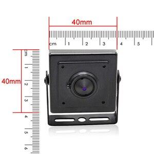 Image 2 - Wheezan Mini HD aparatu bezpieczeństwa 2MP Onvif H.265 CCTV POE kamera IP 12V 1080P Audio P2P widzenie w nocy domu kamery monitorujące