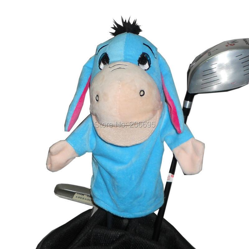 Ogrlica za golf Golf za glavo Fairway Wood ali hibridni klub Golf Club, The Lovely Donkey