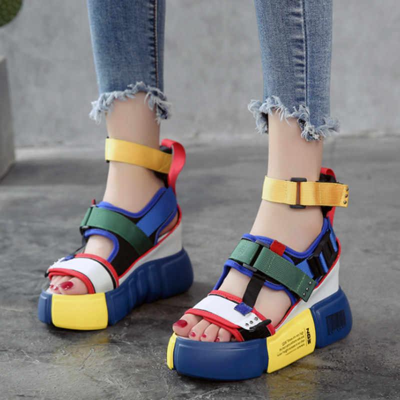 Women's Chunky Sandals 2019 Summer High