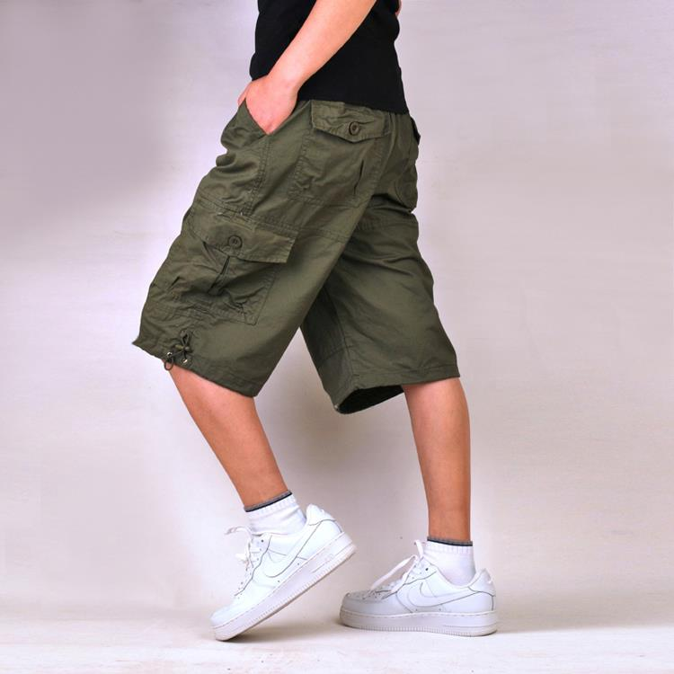 New coolMens Cotton Summer Army Combat Camo Work Cargo Shorts Trousers Men clothing Men Shorts