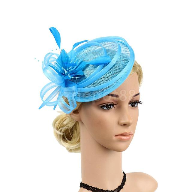 Vintage Feather Fascinator 1920s Great Gatsby Charleston Party Royal ...