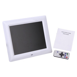 7 inch HD TFT-LCD Digital Photo Frame with MP3 MP4 slideshow Clock Remote Desktop Movie Player Support MPEG1, MPEG2, MPEG, AVI