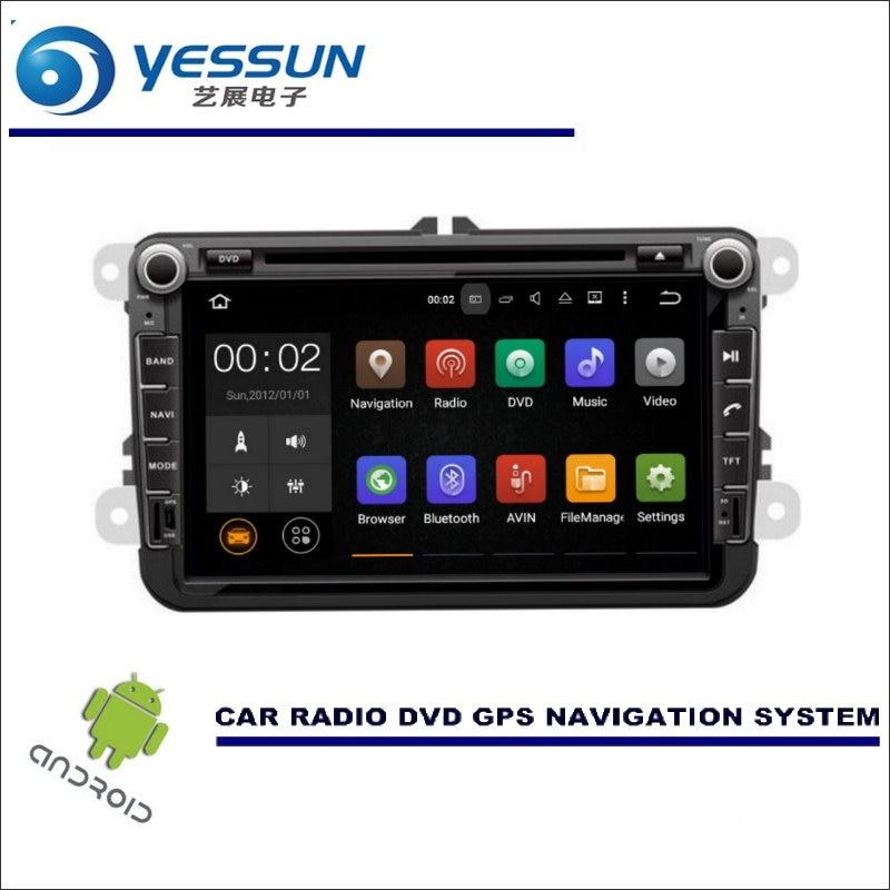 YESSUN voiture multimédia Navigation pour Volkswagen VW Golf MK6/EOS/Magotan 2007 ~ 2015 CD DVD GPS lecteur Radio stéréo Navi Android