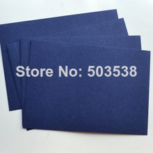 10PCS/LOT,Navy blue blank cards.Paper crafts.Handmade invitation cards,Create your own cards,15.5x10.8cm,Freeshipping.On stock(China)