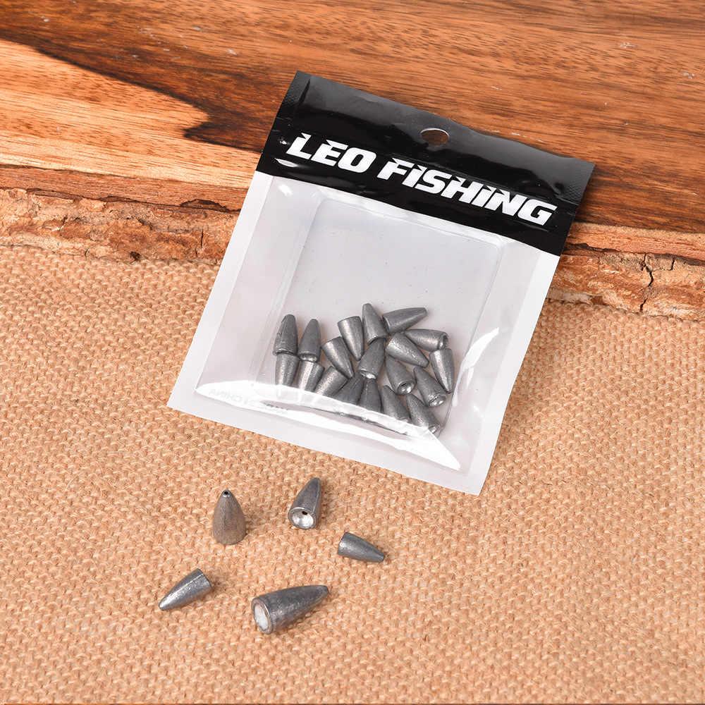 5 pièces/lot 2.5g 3.5g 5g 7g 10g 14g 20g 30g plombs en forme de balle poids Anti-poussière mer vers le bas plombs accessoires de pêche
