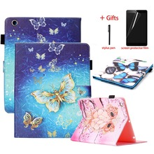 PU Leather Magnet Smart Cover For ipad 2 3 4 9.7 inch Case Tablet Stand + Silicone Soft TPU back Folio Case For ipad 2 3 4 Case цена 2017
