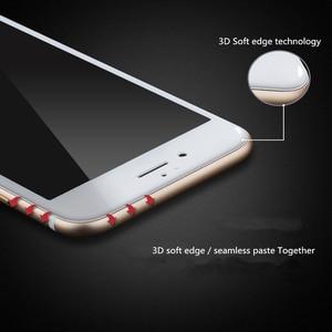 Image 5 - עבור iPhone 8 בתוספת 3D מלא כיסוי מזג זכוכית עבור iPhone 6 6s בתוספת 7 8 מסך מגן שריטות הוכחת קשת קצה זהב זכוכית סרט