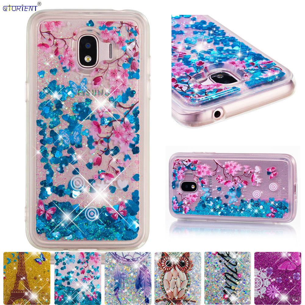 For <font><b>Samsung</b></font> <font><b>Galaxy</b></font> <font><b>J2</b></font> Pro <font><b>2018</b></font> Bumper Case Grand Prime Pro Cute Soft TPU Glitter Liquid Cover <font><b>SM</b></font>-<font><b>J250F</b></font>/DS <font><b>SM</b></font>-J250M <font><b>SM</b></font> <font><b>J250F</b></font>/DS image