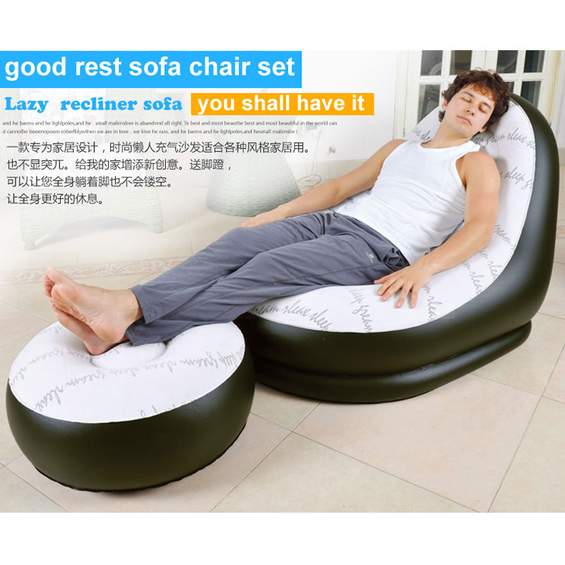outdoor indoor air sofa inflatable lounge sofa set lounge size 125 100 85cm chair size 63