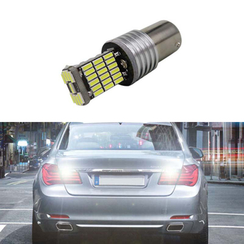 1x High Power 1156 P21W LED Rear Reversing Tail Light Bulb For BMW E30 E36 E46 F30 image