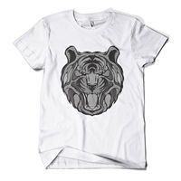 Graphic Tiger Printed T Shirt Hipster Design Urban Fashion Mens Girls Tee Top Hot New 2017