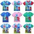 Детские Футболки детские рубашки миньонов одежда для мальчиков девочек футболки мальчик майка девушка детские младенческой топы щенок костюм собаки патруль