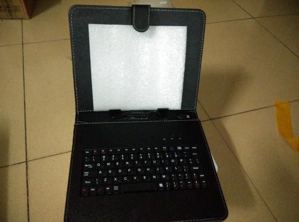 1 unids ruso micro USB teclado cubierta para 10 pulgadas MTK6572 MTK6582 N9106 A101 Tablet