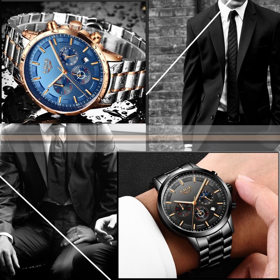 HTB1GU9EmNuTBuNkHFNRq6A9qpXaG Relojes Watch Men LIGE Fashion Sport Quartz Clock Mens Watches Top Brand Luxury Business Waterproof Watch Relogio Masculino