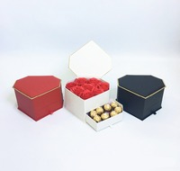 Gift Box Include Drawer Diamond Shape Favous Weeding Party Gifts For Guests Chocolate Candy Box Florist