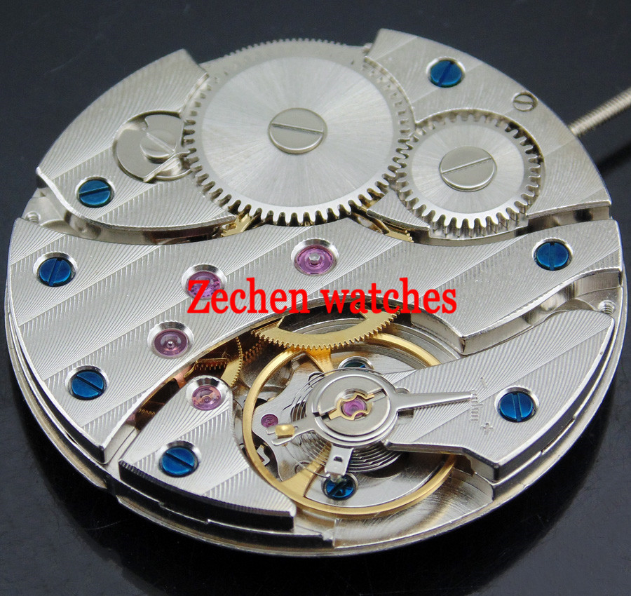 Fit Parnis mens watch 17 Jewels Asian 6497 Hand winding Mechanical Movement цена и фото