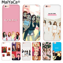 MaiYaCa BLACK PINK BLACKPINK k-pop Super Luxury Phone Case for iphone 11 pro 8 7 66S Plus X 10 5S SE XR XS XS MAX cover(China)