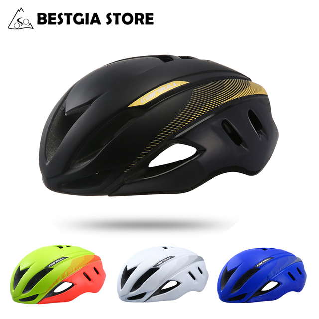 Cairbull Speed Aero Bike Helmet Aerodynamics Safety TT Cycling Helmets For Bicycle Men Women Sports Racing Road Bike Helmet 250g
