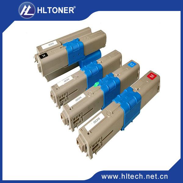 Cartuchos de Toner compatível Para OKI C301 C321 C301N C321N ciano/magenta/preto/amarelo 4 pçs/set