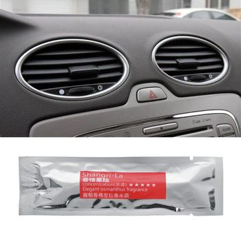 1Pc Air Freshener Auto Perfume Car Styling Car Air Conditioner Vent Air Freshener Perfume Supplement #401 image