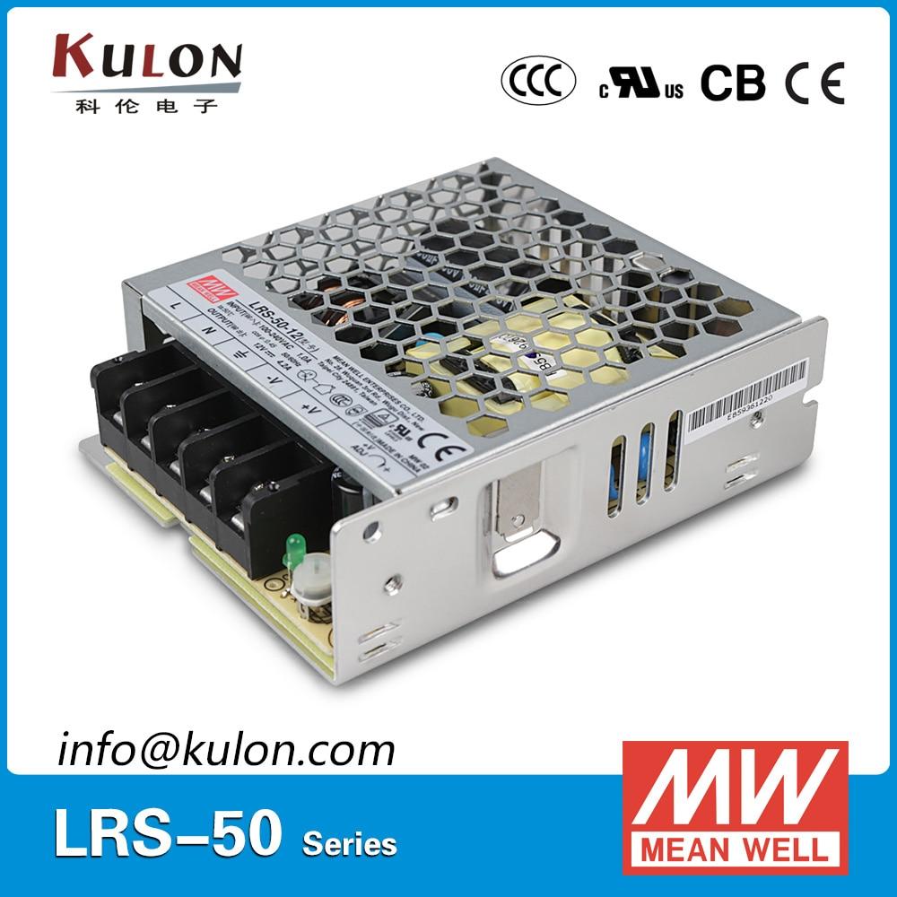 где купить Original MEAN WELL LRS-50-3.3 AC/DC single output 33W 3.3V 10A  Meanwell Power Supply LRS-50 дешево