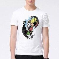 Newest 2017 Men S Creative Design Cartoon T Shirt Summer Fashion Rick Morty Printed T Shirt