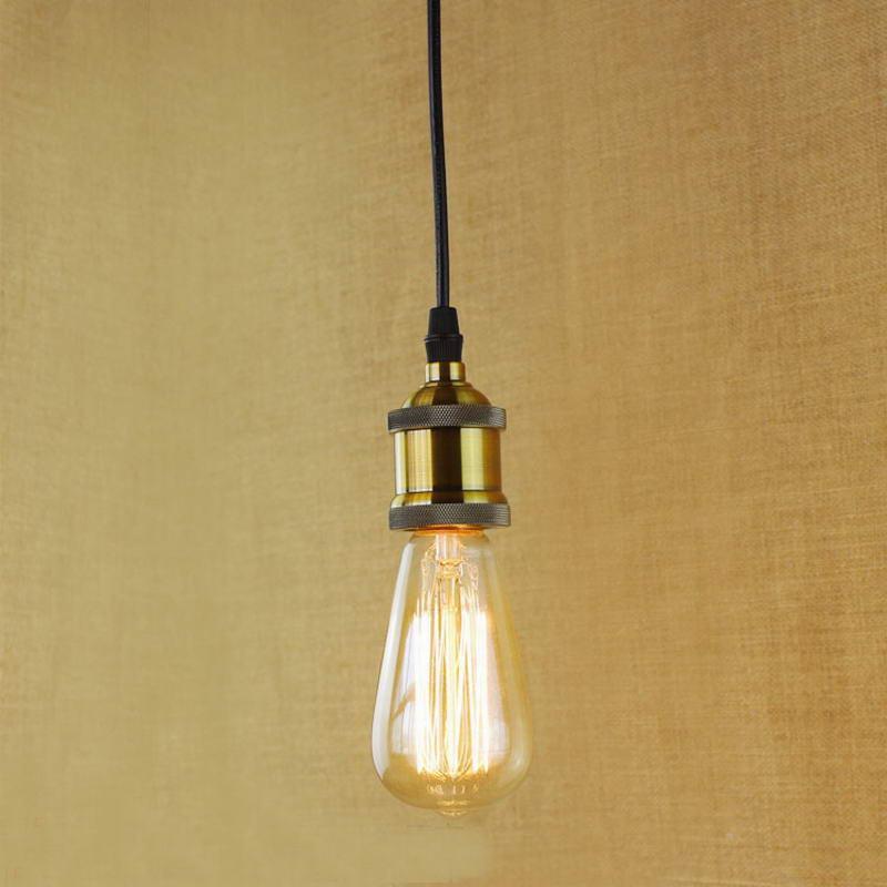 ФОТО Retro Vintage 40W Edison light bulb chandelier E27 220V lamp industrial Incandescent Bulbs Filament Edison light bulb led lamp