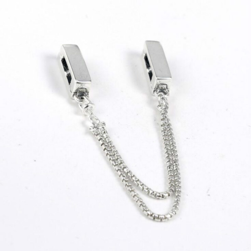 100% 925 sterling silver jewelry new watch chain accessories mobile chain beads suitable for watch chain making