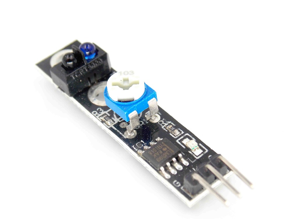 Inteligente Electrónica KY-033 3 pin Camino Módulo de Rastreo de Vehículos Intel