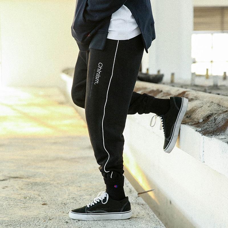CHINISM Del Ricamo Degli Uomini Swag Nono Pantaloni Hip Hop Harem Pantaloni  Degli Uomini Pantaloni Pantaloni Solidi Pantaloni Della Tuta High Street ... f5a4022c8d2