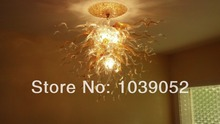 Free Shipping Cheap Amber Glass Murano Lights Chandeliers