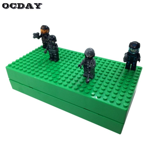 Creative Building Blocks Storage Box Brick DIY Toys