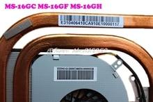 Original CPU FAN&Heatsink For MSI GE60 2OC 2OD 2OE 2PC 2PE 2PF 2PL 2PG 2QD GP60 2QE 2QF MS-16GC MS-16GF MS-16GH PADD06015SL A166 02hn6g cpu heatsink for c2100 1366pin 2u original 95