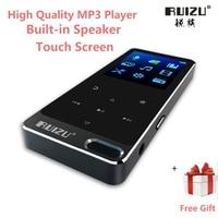 2017 New Original RUIZU X19 All Metal Touch Screen HIFI MP3 Player 8GB High Quality Lossless