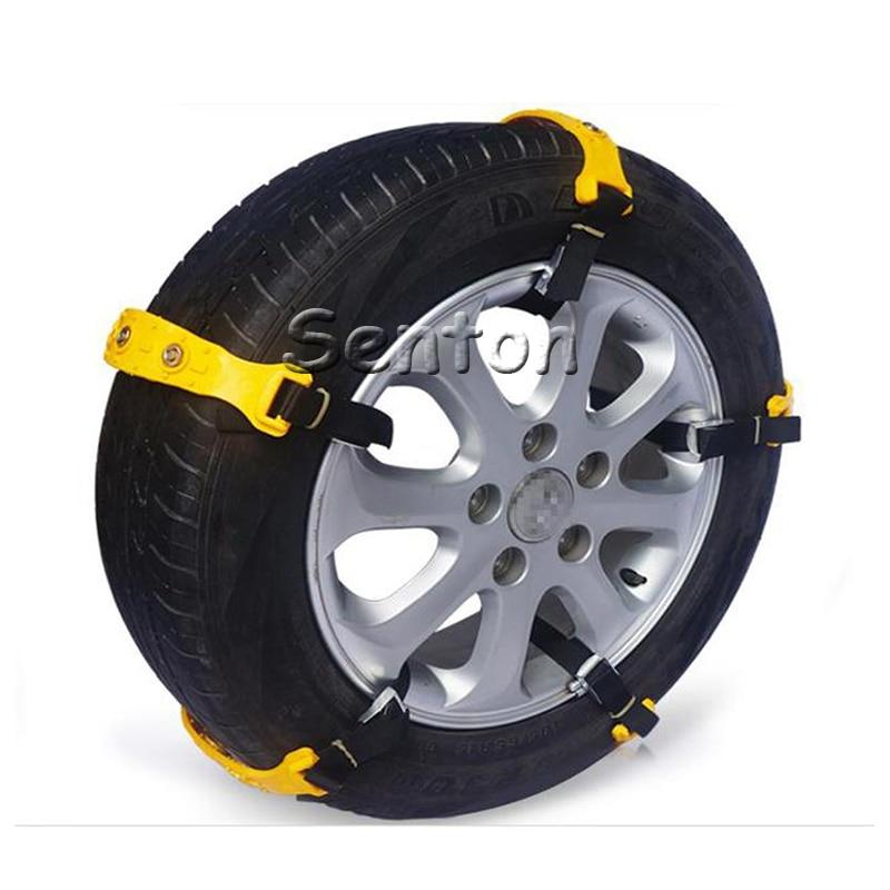 10PCS Car Winter Tyres wheels Snow Anti-skid Chains For BMW E46 E39 E60 E90 E36 F30 F10 E34 E30 Mini Cooper Fiat 500 Accessories защитные аксессуары car pakistan bmw alpina