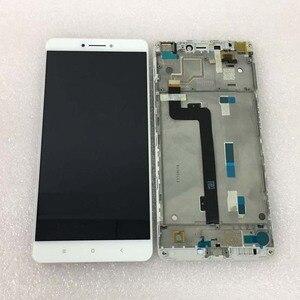 """Image 4 - Pantalla LCD Original de mejor calidad probada para Xiaomi Mi Max mimax de 6,44 """", pantalla LCD + Digitalizador de panel táctil con Marco, color blanco"""