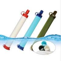 Emergency Life Survival Portable Purifier Water Filter Straw Drinking Water Purifier Filter XTLSBqm