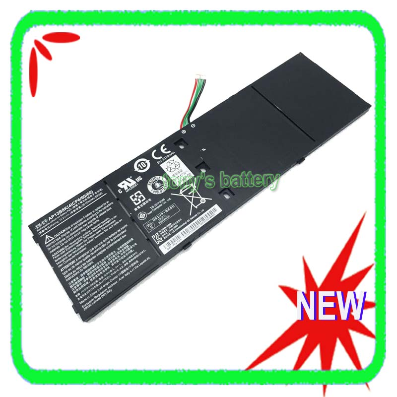 AP13B8K 4ICP6/60/80 Battery For Acer Aspire V5 M5-583P V5-572P V5-572G R7-571 R7-572 R7-572G AP13B3K велосипед kross level r7 2016