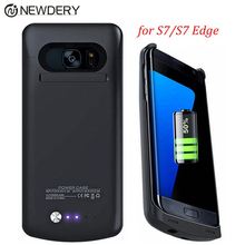 5200mAh S7 Edge Charger Battery Case For Samsung Galaxy S7 Cases Back Cover External Backup Portable Power bank