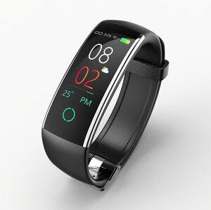 Image 3 - Nova Pulseira Pulseira Inteligente com Pedômetro Freqüência Cardíaca Pressão Arterial multifunções banda inteligente para Android IOS Fitnesstracker