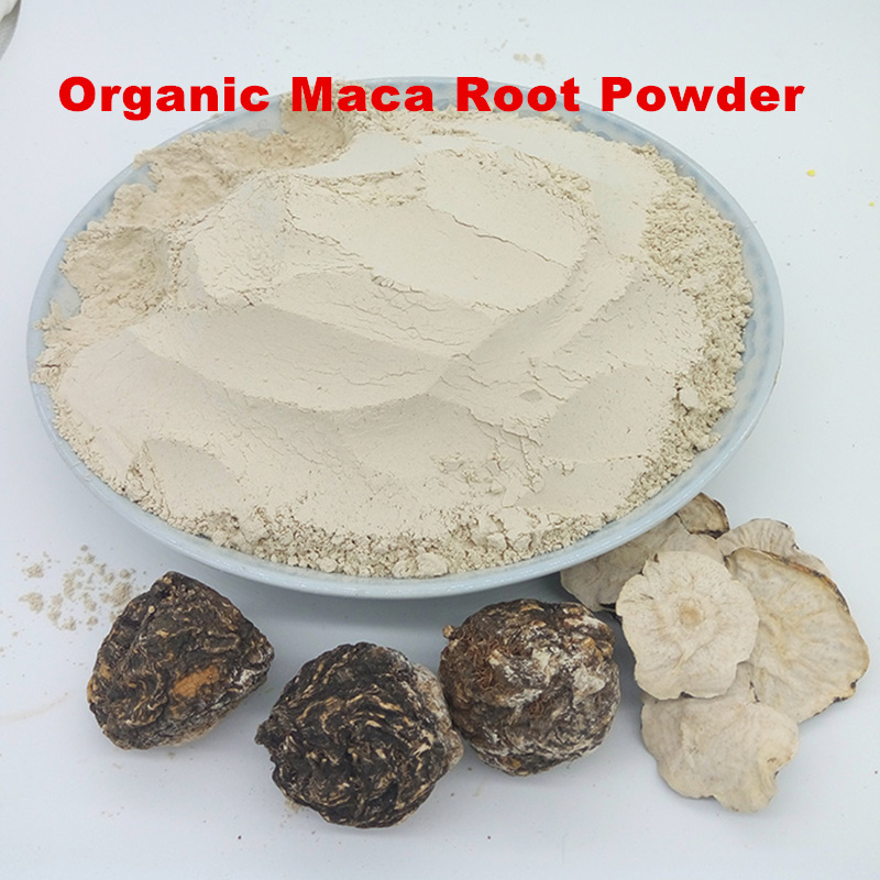 Organic Maca Root Powder - Raw (Premium 4 Root, Peruvian Superfood)