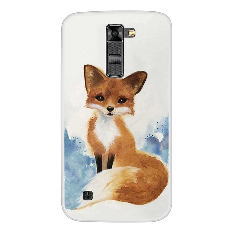 Untuk LG K7 TPU Silikon Lembut Desain Keren Bermotif Dicat Ponsel Cover Untuk LG K7 Case