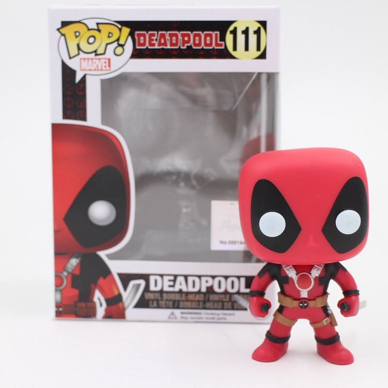 цена на Funko pop Official Marvel: Universe Legends X-men Deadpool Hot Movie Collectable Vinyl Figure Model Toy with Original box