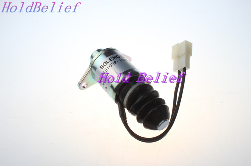 US $155 0 |New Fuel Shut Off Solenoid for YANMAR 2YM15 3YM30 3YM20 3JH5E  3JH4E 4JH4AE-in Valves & Parts from Automobiles & Motorcycles on