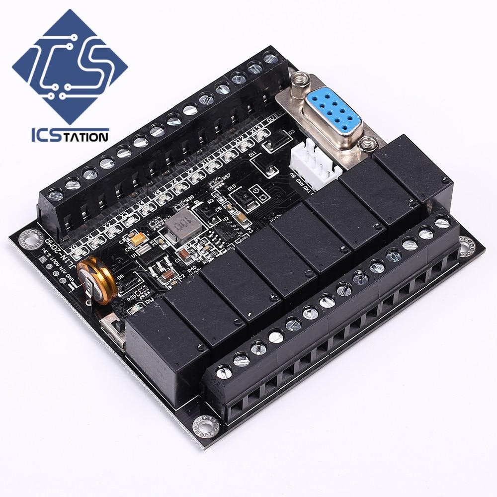 Function Module FX1N-20MR PLC Board Relay Delay Module RS232/TTL DC 10-28V 5A pxb15 48wd05 n power supplies board mount mr li