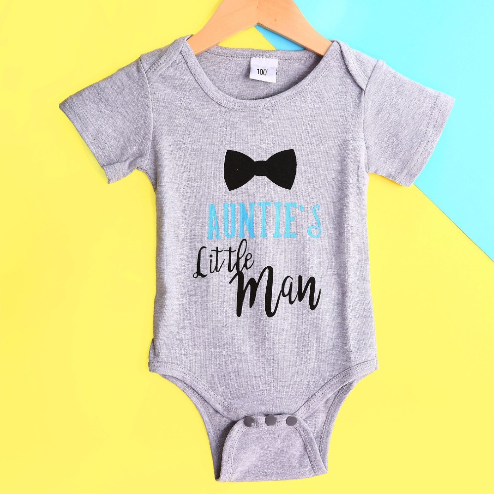 New Summer Baby Boys Romper Tie Letter style Short Sleeve infant rompers Jumpsuit cotton Rompers Newborn Clothes Kids clothing