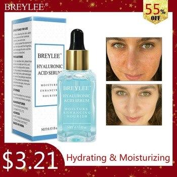 BREYLEE HA Hyaluronic Acid Serum Facial Moisturizing Essence 100% Natural Ingredients Face Skin Care Nourishing Ageless Beauty
