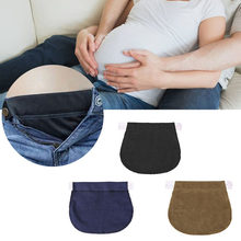 New Maternity Pregnancy Waistband Belt Adjustable Elastic Pants Extended Button Pants Extended Button for Pregnant Women(China)